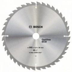 Пильный диск BOSCH 305x30x40z Optiline ECO (2608641798)