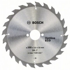 Пильный диск BOSCH 200x32x24z Optiline ECO
